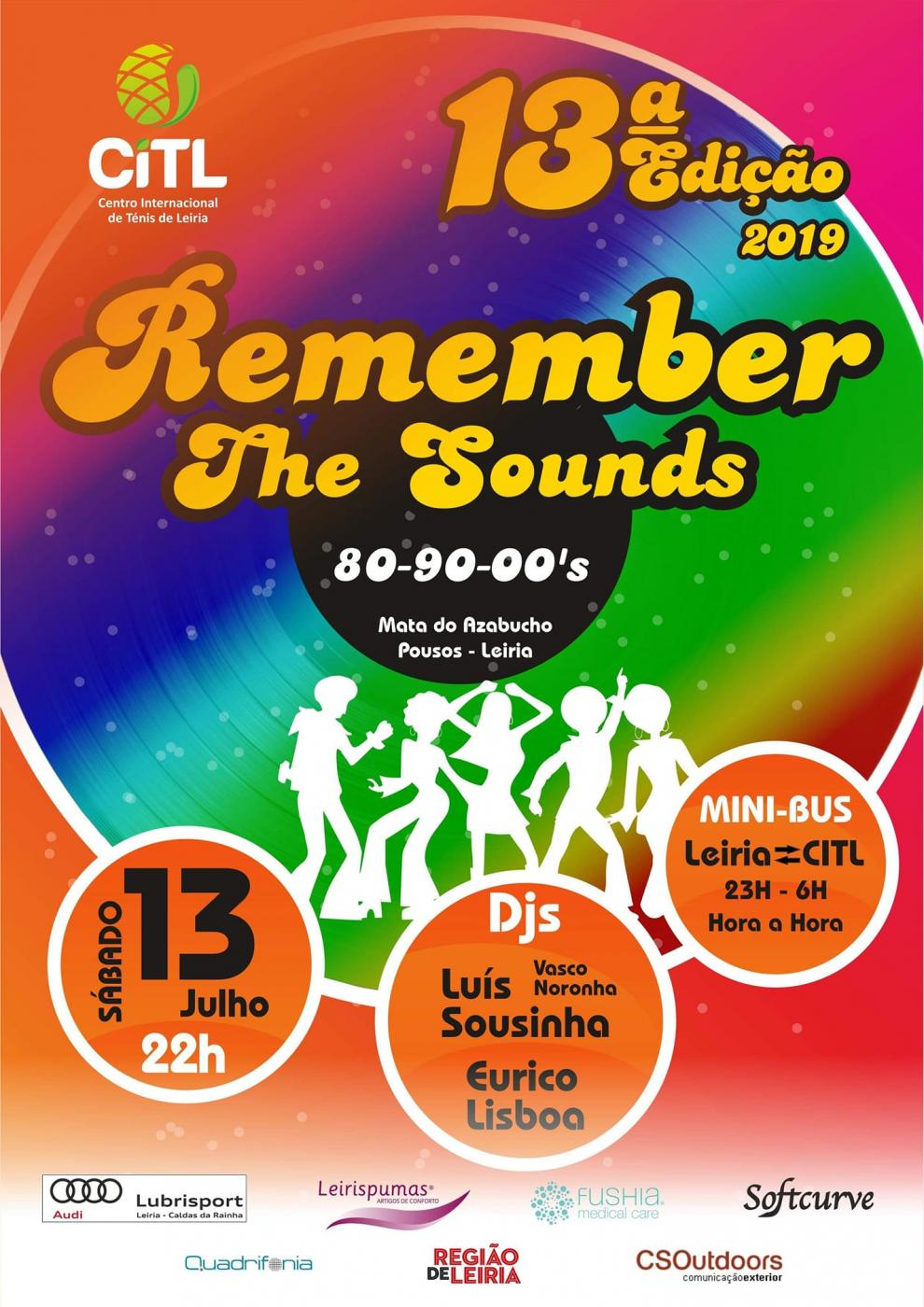 Festa Remember The Sounds 80-90-00's